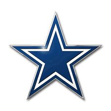 Dallas Cowboys Aluminum COLOR Emblem Automotive Car Truck Vehicle NFL