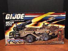 GI Joe 1988 Vintage Mean Dog Complete Never Used Dela0178