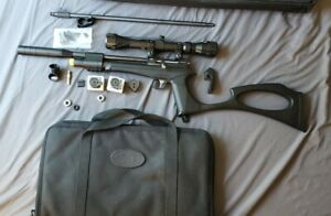 Diana Bandit 0.22 PCP Pistol/Rifle Combo, 3-9×32 scope, Cases, Extra Mags, MORE!