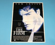 DOUBLE SIDED FOLDOUT POSTER THE FIRM / MELROCE PLACE 1993 HITKRANT MAGAZINE