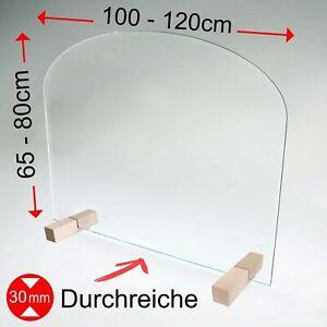 Virenschutz Spuckschutz Thekenaufsatz Hustenschutz Nießschutz Schutz Glas   S4