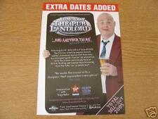 Flyer: Al Murray 'The Pub Landlord'  Rare 2006 UK Tour
