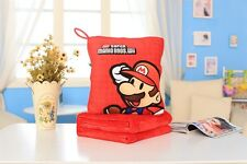 Super mario brothers Mario quilt  Blankets zip warm hand cushion fold fit anyone