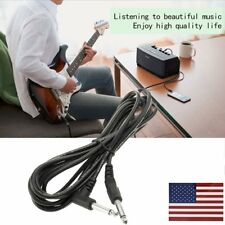 High Quality 10ft 3m Electric Patch Guitar Amplifier AMP Instrument Cable C