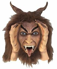 Krampus Halloween Decoration with Animated Eyes - Spooky Holiday Decor for...