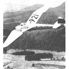 Bauplan Minimoa Modellbau Modellbauplan Segelflugzeug