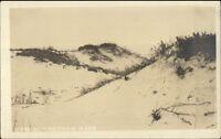 Chatham Cape Cod MA Sand Dunes c1915 Real Photo Postcard