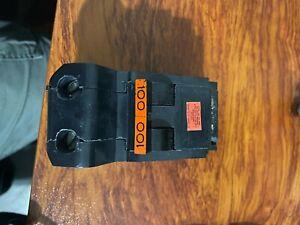 Federal Pacific FPE STAB-LOK NA2100 2 Pole 100 Amp 240v Circuit Breaker