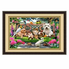 Zoo DIY 5D Diamond Painting Embroidery Cross Crafts Stitch Home Decor 40*30cm