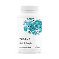 THORNE Basic B Complex (Vitamin B-Komplex) 60 Vege Kapseln, Blitzversamd