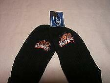 NCAA OREGON STATE BEAVERS - ADULTS - KNIT MITTENS - NWT - Black with Logo