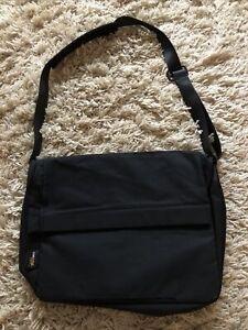 C6 Messenger Record Shoulder Bag Satchel Cross Body Black Mr Porter NEW Cordura