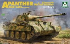TAKOM PANTHER A WITH ZIMMERIT & FULL INTERIOR 2 IN 1 1:35 2100