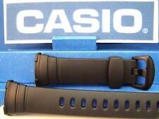 Casio Watch Band WVA-107 or WVA-107H Original Waveceptor Black Resin Strap