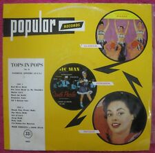 TOPS IN POPS- Rare Aussie Label LP-Popular Records 1962 Popular Record Club 5022