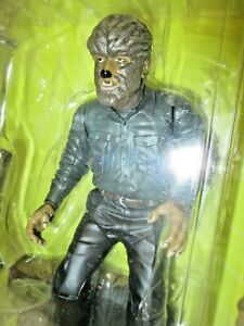 NEW Lon Chaney jr. as the The Wolf Man (MOC) Universal Monsters (1998) Sideshow