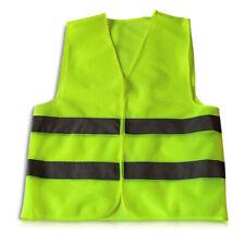 5x Auto Warnwesten Sicherheitsweste Signalweste Pannenweste Neon Gelb Warnweste