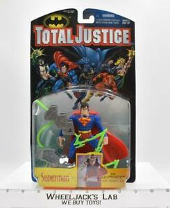 Superman Total Justice Batman 1996 Kenner NEW MOSC Action Figure