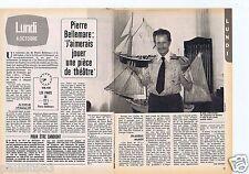 Coupure de presse Clipping 1980 Pierre Bellemare  (2 pages)