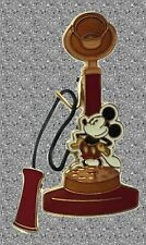 Mickey Retro Telephone DISNEY Pin - Vintage Collection #8 - Pin of the Month