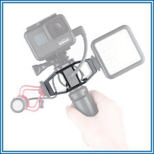 GoPro Vlogging Bracket w/Tripod Mount, 2 Cold Shoe Mounts & Supports Mic Adapter