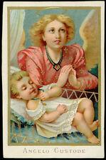 santino cromo-holy card  ANGELO CUSTODE 5