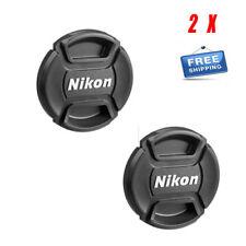 2X Nikon 62mm Lens Front Cap Cover For Nikkor AF-S 70-300 / 85 F1.8D /105 F2.8G