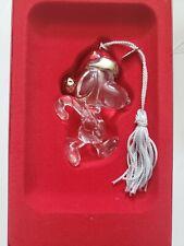 Lenox Crystal Ornament Snoopy #760549