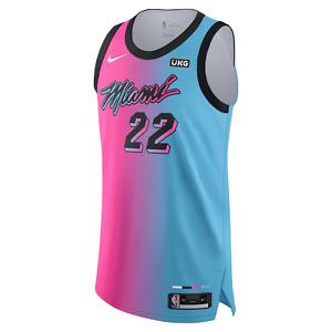 Miami Heat Jimmy Butler Nike ViceVersa UKG Patch 2020-21 NBA Authentic Jersey