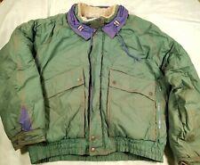MCGREGOR FASHION Vtg 80s 90s GREEN WINTER SKI JACKET PARKA MEN'S L / XL