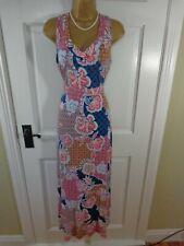 Per Una Multicoloured Stretchy Maxi Dress, UK 12, Perfect Condition