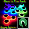 Glow In The Dark Hand Tri Spinner Finger Fidget Toy Stress Luminous Torqbar FLIP