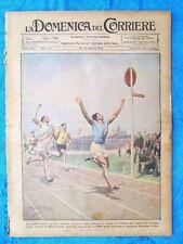 La Domenica del Corriere 26 giugno 1921 Martinenghi - Granata - Cavour