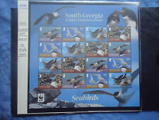 south georgia & south sandwich islands 2012 sea birds sheetlet MNH