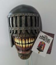 ADULT OFFICIAL JUDGE DREDD DEATH LATEX MASK COSTUME ACCESSORY TB10235