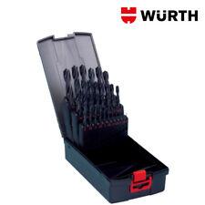 Set Punte Trapano Acciaio Ferro HSS 25pz Professionali 1-13mm - WÜRTH