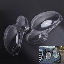 Car Headlight Clear Lens Cover Fit For BENZ E Class W211 E240 02-2008