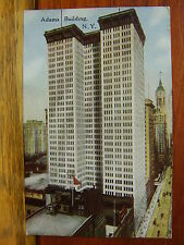 1917 Adams Building - New York, NY Color Postcard -Walworth, WI/Wis/Wisc EM Voss