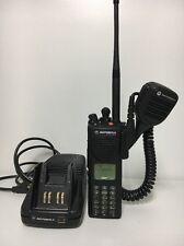 Motorola XTS3000 VHF 136-174mhz 255ch P25 Digital Radio H09KDH9PW7BN CP HT XTS