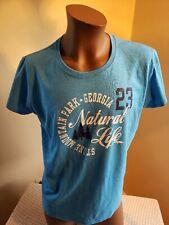 New Adult XL SOUVENIR T-Shirt Stone Mountain Park Georgia Baby Blue Tourist