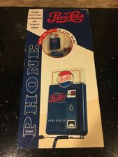 PEPSI COLA NOSTALGIC VENDING MACHINE PHONE With Integrated Handset Wall Mount