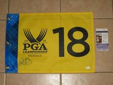 Rory McIlroy signed 2014 PGA Championship Tournament Winner Flag JSA Valhalla