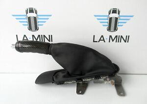 Genuine Used MINI Handbrake Lever (JCW Carbon Fibre) for R56 R55 R57 - 6774814