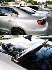 PAINTED COLOR  #LD7X M-DESIGN WINDOW VISOR ROOF SPOILER for 11-17 VW JETTA MK6