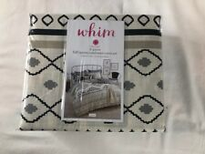NEW Whim Martha Stewart Collection 3 piece Full/Queen Comforter Cover Set