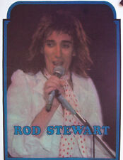 ROD STEWART T-SHIRT IRON ON THE FACES 70s HEAT TRANSFER TOUR VINTAGE