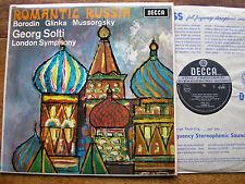 SXL 6263 ROMANTIC RUSSIA: GLINKA/MUSSORGSKY/BORODIN     SOLTI / LSO   WBg    NM
