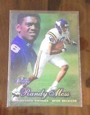 Randy MOSS RC 1998 FLAIR SHOWCASE ROW 2 ROOKIE CARD