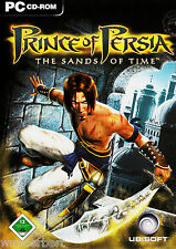 * - prince of persia-the sands of time-pc jeu (2003) 2 CD + Instructions