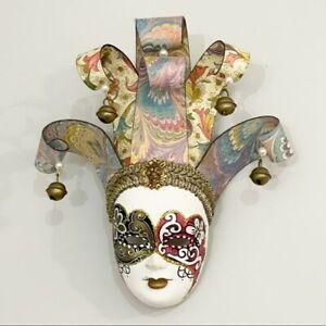 Venetian Italian Small Ceramic mask wall hanging
